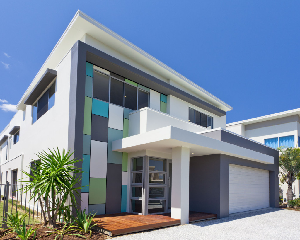 Selecting the right color for house exterior find the for Modern exterior wall design