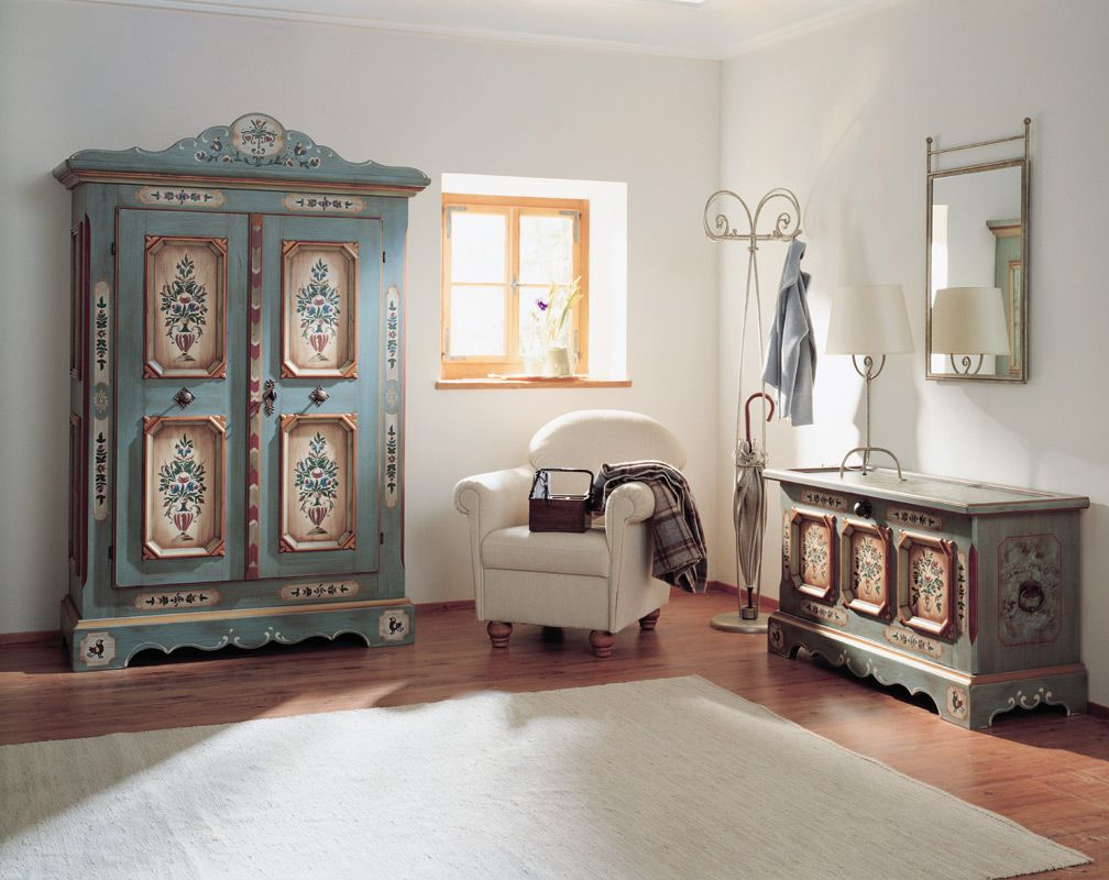 white painted wall wooden floor white simple rug wooden framed window light  blue vintage wardrobe white. How to Find Perfect Furniture for Your House    HomesFeed