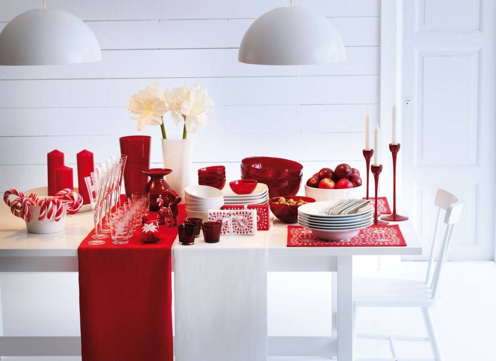 Decorate your dining table inspirational ideas for - Deco de noel table ...