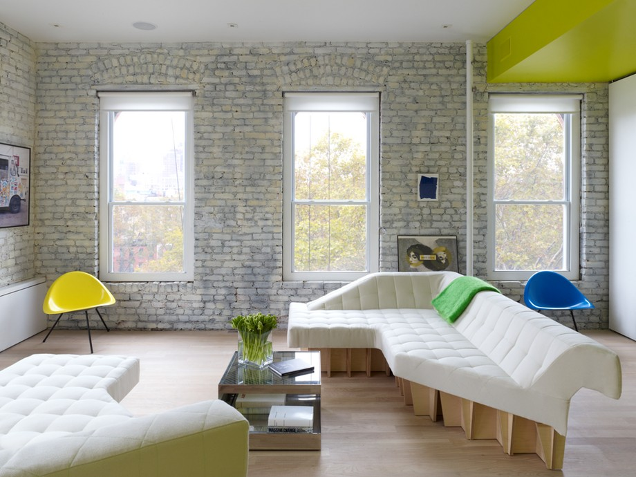 apartment in new york offering fresh and colorful design | homesfeed