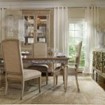 wonderful Chandelier Dining Desk Set On cream Carpet Exotic Dining Room Design Mirror Furniture