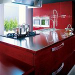 wonderful red glossy kitchen set Kitchen Furnishings plus Constructed In Appliances With Crimson Color Kitchen Stainless Steel Counter Prime