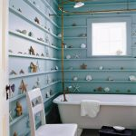 wonderful sea Themed Lavatory Decoration Eas House Inside Style Rest room Picture Small Bathroom Decor Ideas
