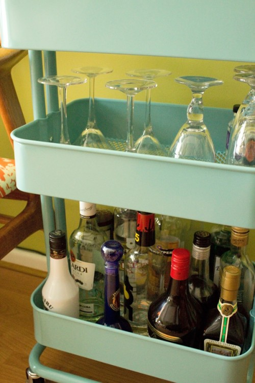 Bar carts ikea practical decorative party property for Ikea wine bar