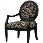 Zebra prints arm chair
