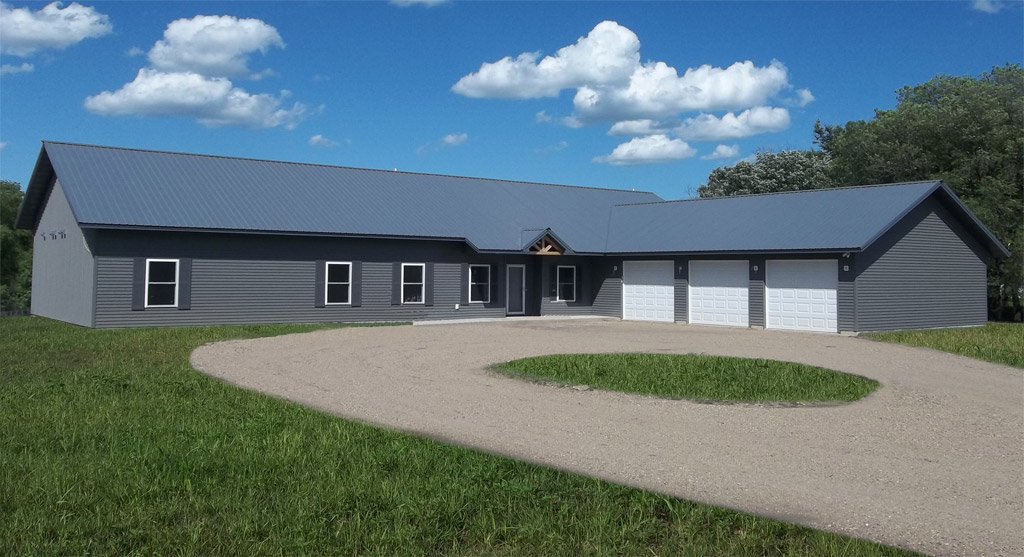 Pole Barn Homes Pictures Inspiring Home Designs in Rural Zone – Pole Barn Home Plans With Garage
