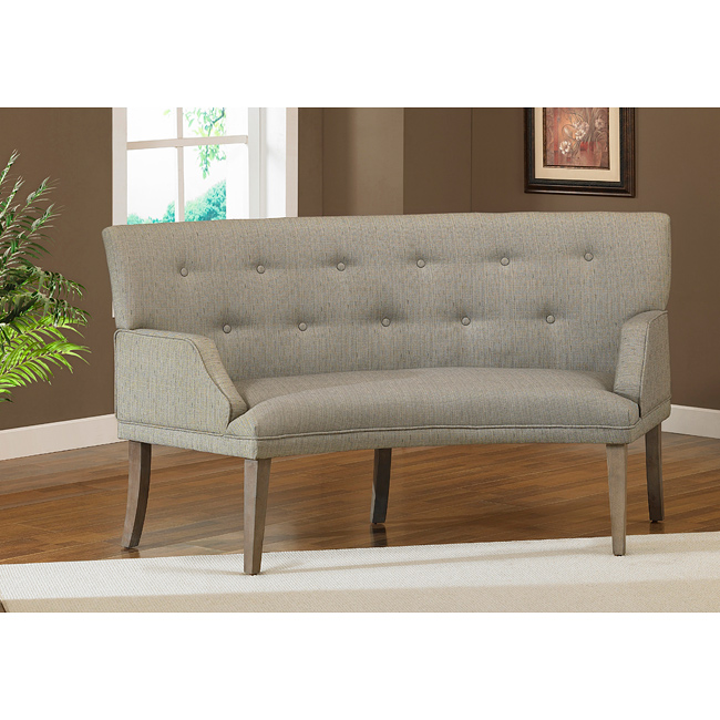 Curved banquette seating lovely and artful seating for - Hilton furniture living room sets ...