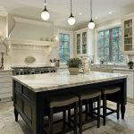 astonishing kitchen idea with kitchen cabinet base marble tops with elegant white cabinet and ravishing framed window in hard marble flooring