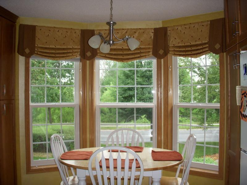 window designs for living room long bay windows with beautiful rods simple pendant lamp casual white dining furniture the ideas of window coverings for bay windows homesfeed