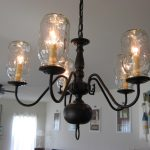 Beautiful Classic Mason Jar Chandellier
