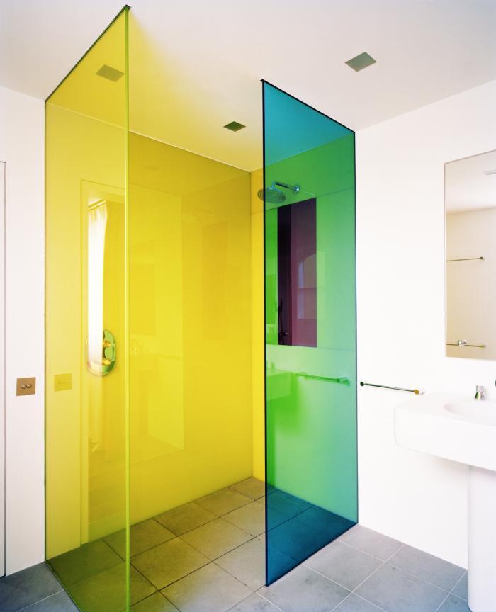 Top five tips for best tile for shower floor homesfeed for Coloured glass panels