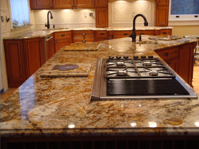 Solutions to overcome high price of granite countertops for Kitchen set granit hitam
