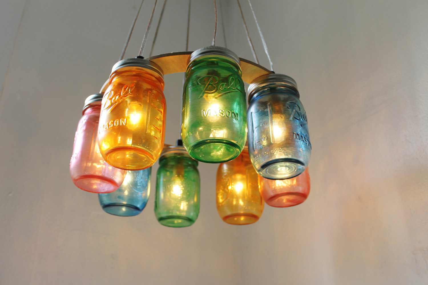 mason jar lighting. mason jar chandeliermartyu0027s musings