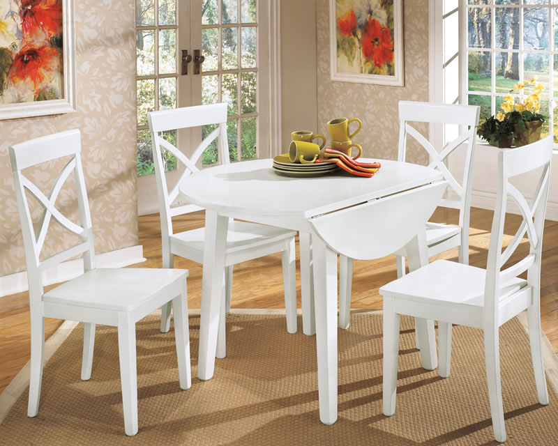 Small White Kitchen Table And Chairs Set
