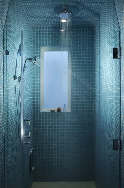 Various Shades Of Blue For Tranquil Bathroom Homesfeed