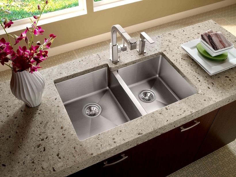 Best Undermount Kitchen Sinks For Granite Countertops what is best kitchen sink material? | homesfeed