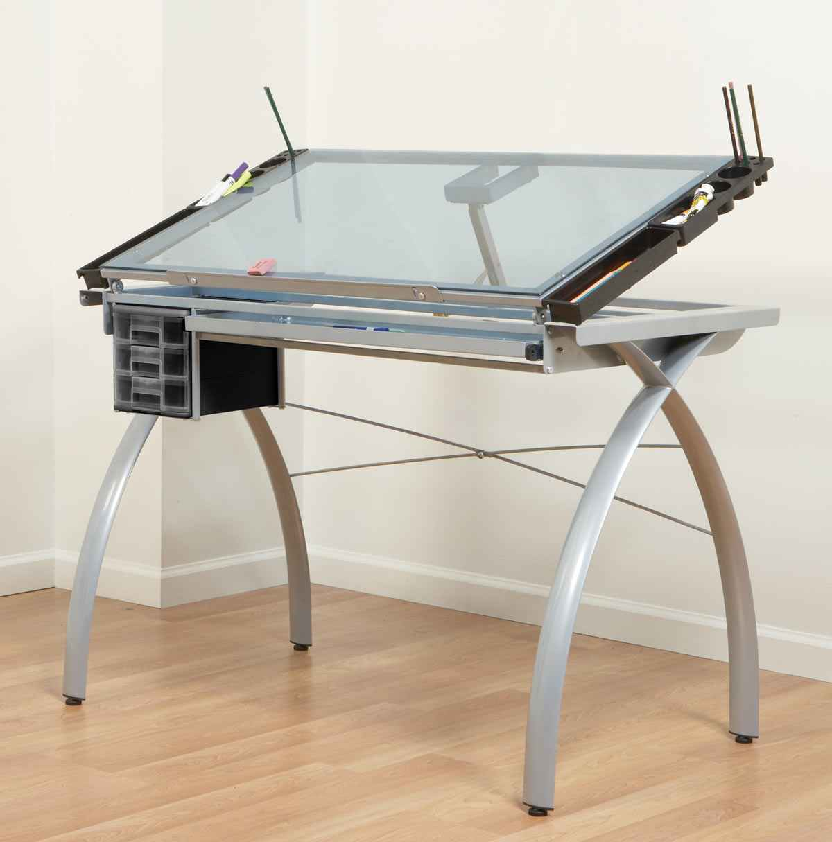 Drafting Table With Gl Top