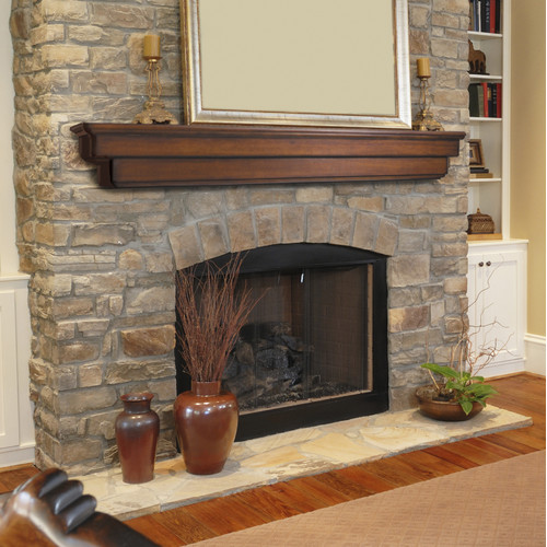 The Ideal and Perfect Fireplace Mantel Height