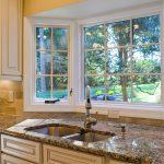 garden window for kitchen dishwashing unit luxurious marble kitchen countertop big-size kitchen cabinetry