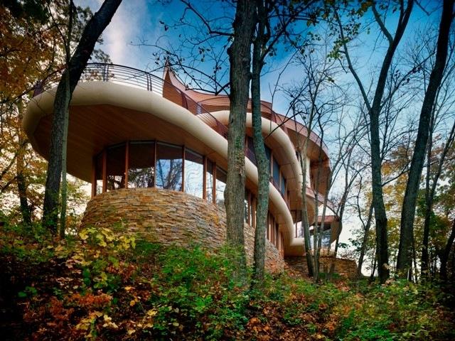 Organic modern architecture