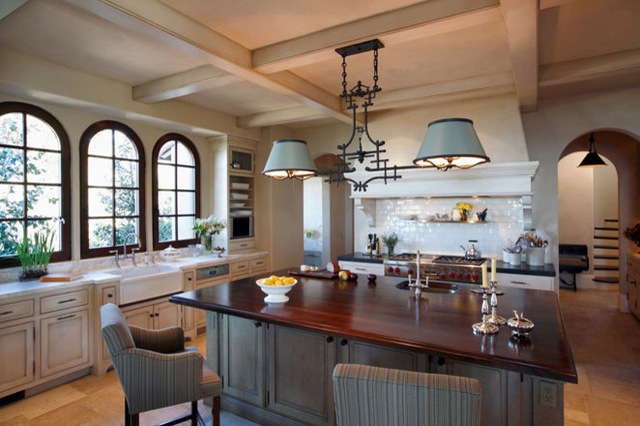 Gorgeous L Shaped Kitchen With