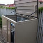 laminate metal box for equipment pool