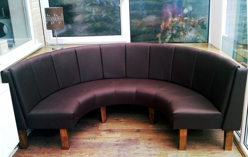 Curved Banquette Seating Lovely And Artful Seating For