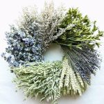 mixed-nature wreath ring decoration