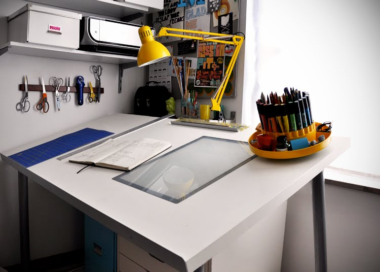 Architecture Drawing Table steps of how to build a adjustable drafting tables ikea | homesfeed