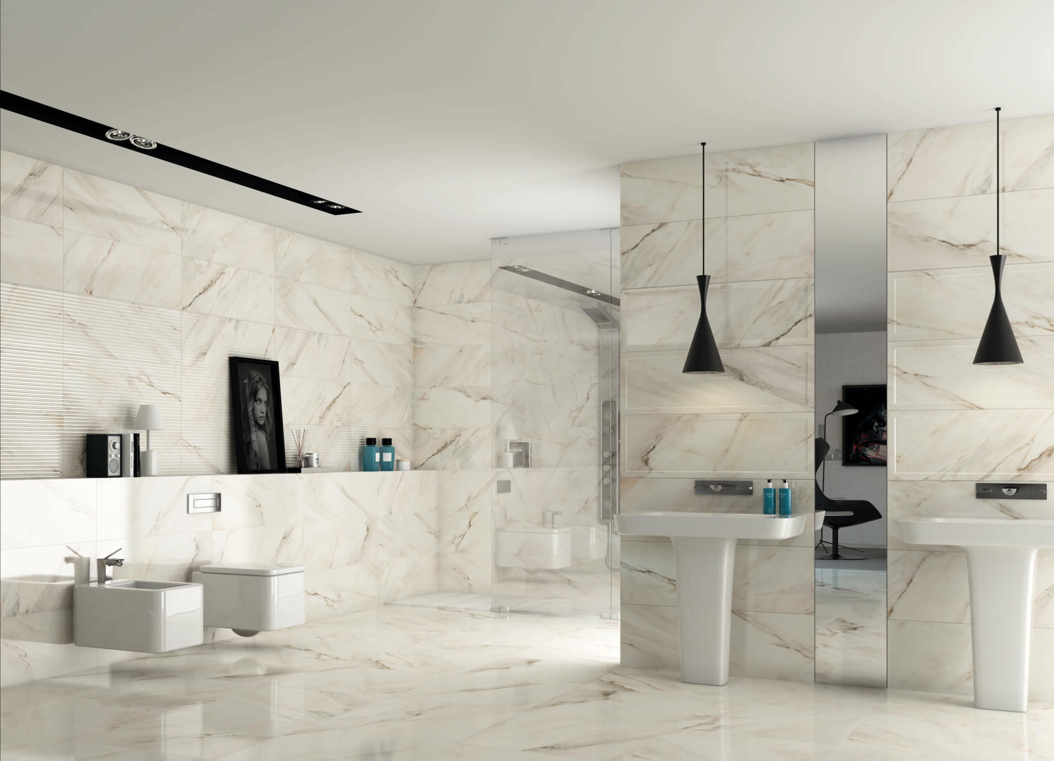 Porcelain Tile that Looks Like Marble for Floors | HomesFeed