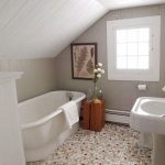 porcelain tub fresh and vivid flower ornament artistic painting simple basin small-pattern floors
