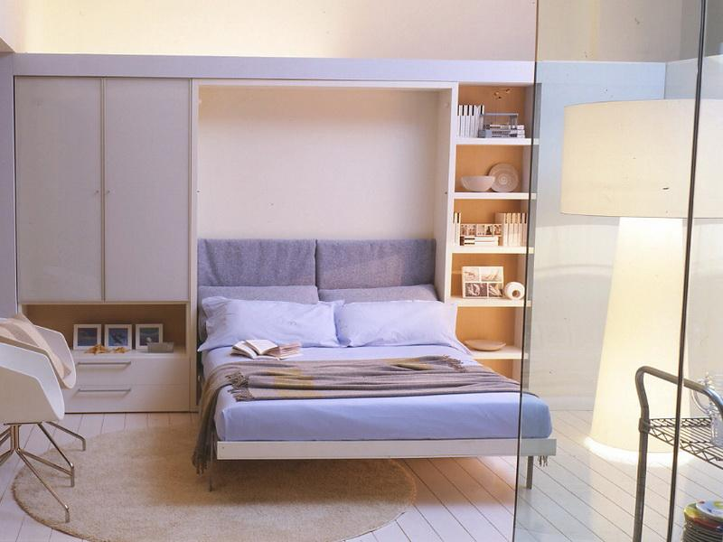 Bed that Folds into Wall, Best Solution for Small Bedroom Space