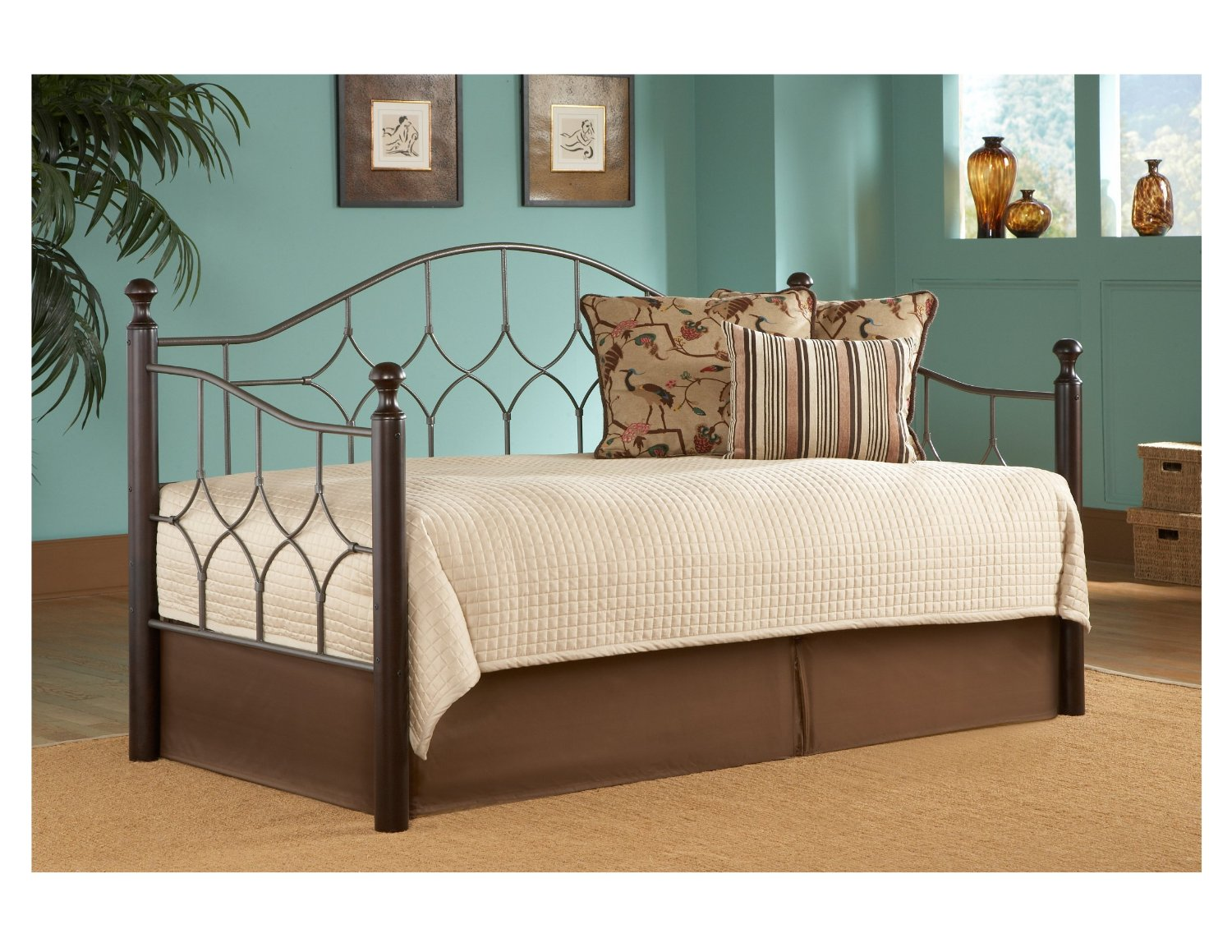 Queen Size Daybed Frame Furniture With Huge Flexibility And Function Homesfeed