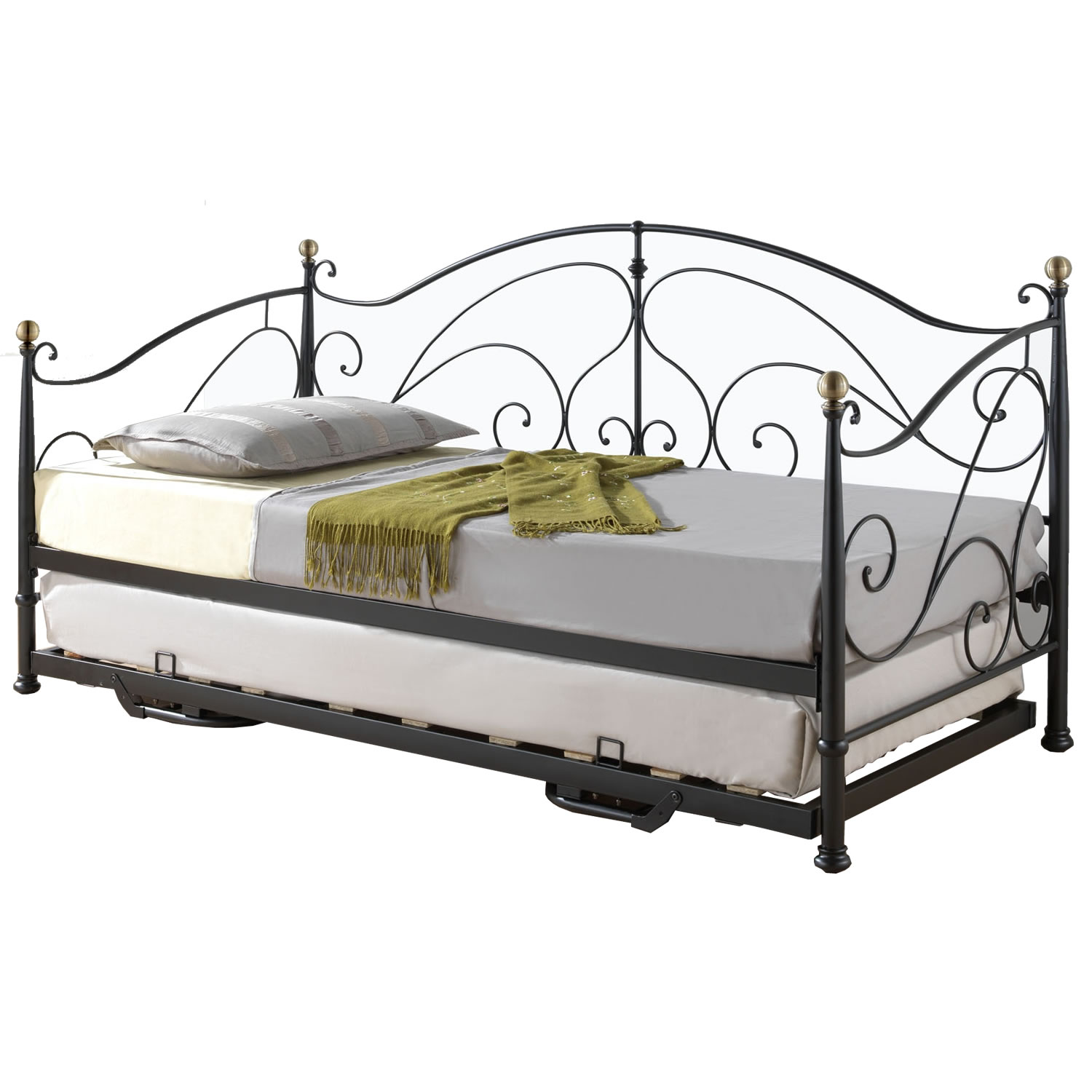 Ikea White Wrought Iron Bed Frame