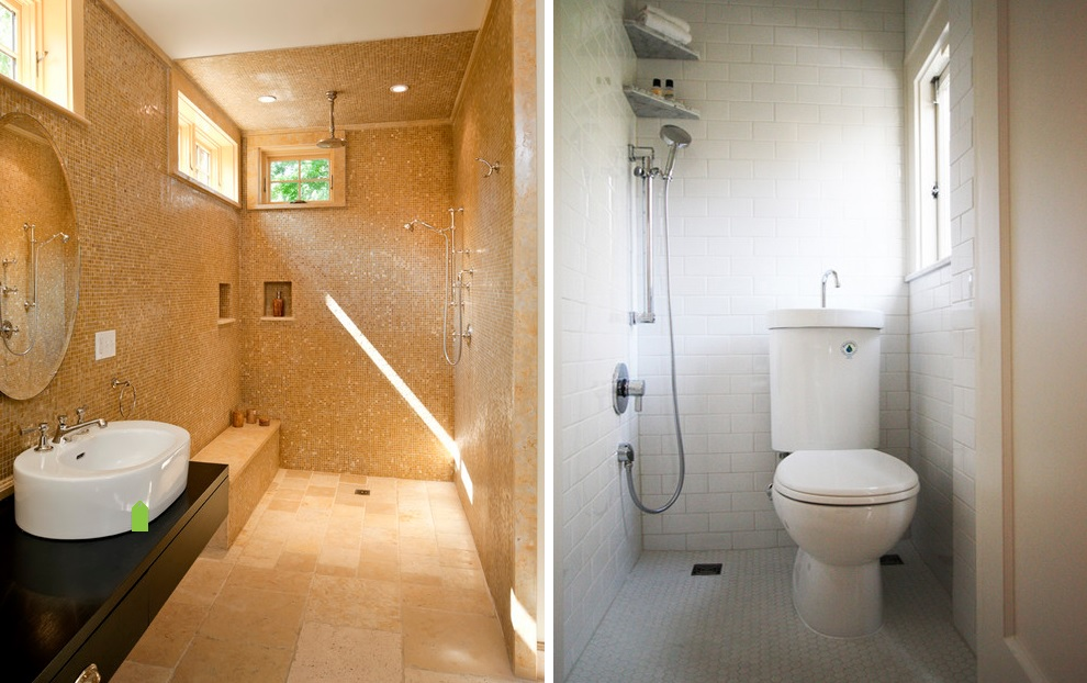 The benefits of walk in showers no doors installations for Open shower bathroom