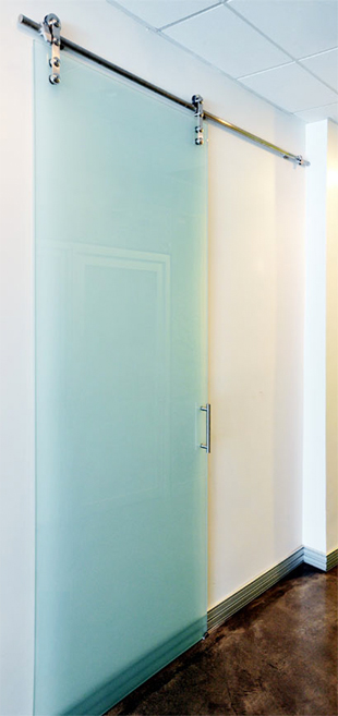 Glass barn doors for closet a newest style of bathroom interior homesfeed Glass bathroom doors interior