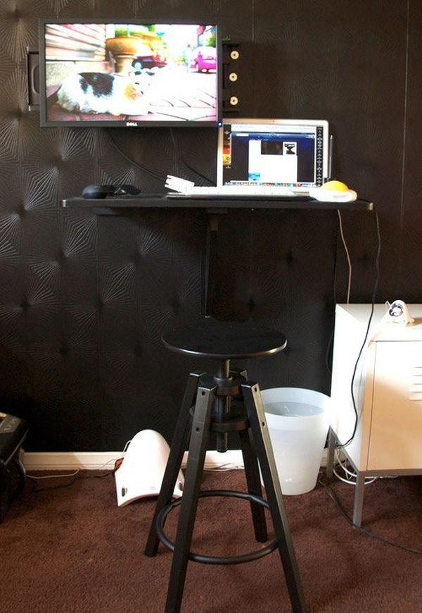 Do It Yourself Home Design: Simple Guidelines Of How To Build A Standing Desk