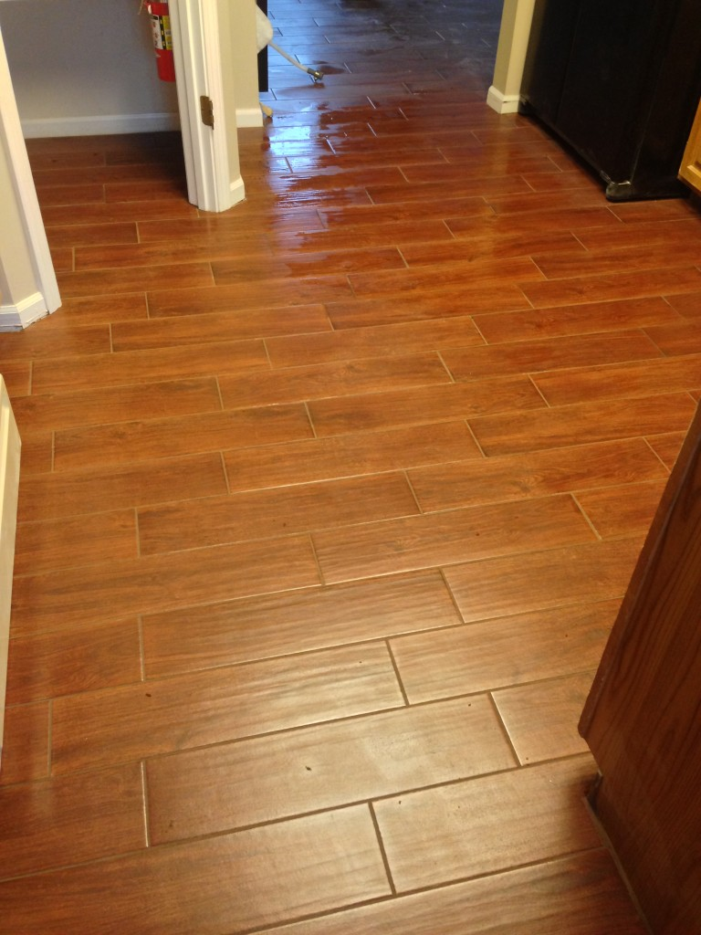 Tile look wood reviews a new reference in flooring for Tile and hardwood floor