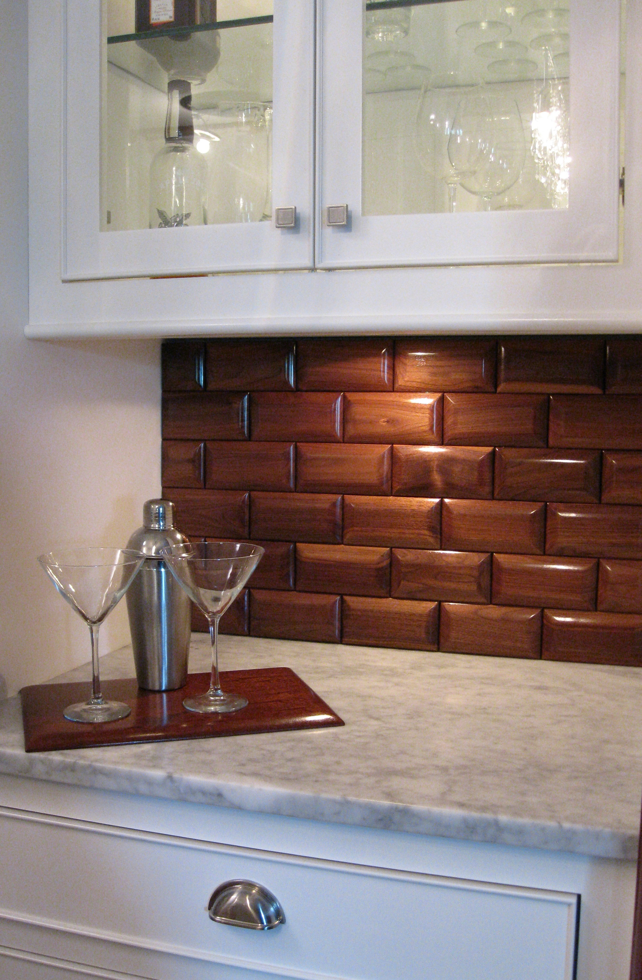 when you are going to install the subway tile subway tile has been
