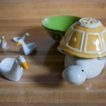 turtle measuring cup with yellow shell green shell measuring cup mini duck ornaments