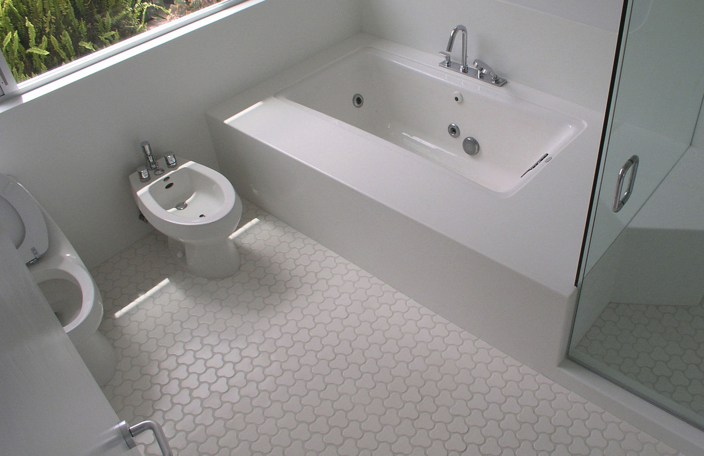 Top five tips for best tile for shower floor homesfeed unique shape white tiles for shower two modern closet units small tub and its faucet frameless dailygadgetfo Gallery