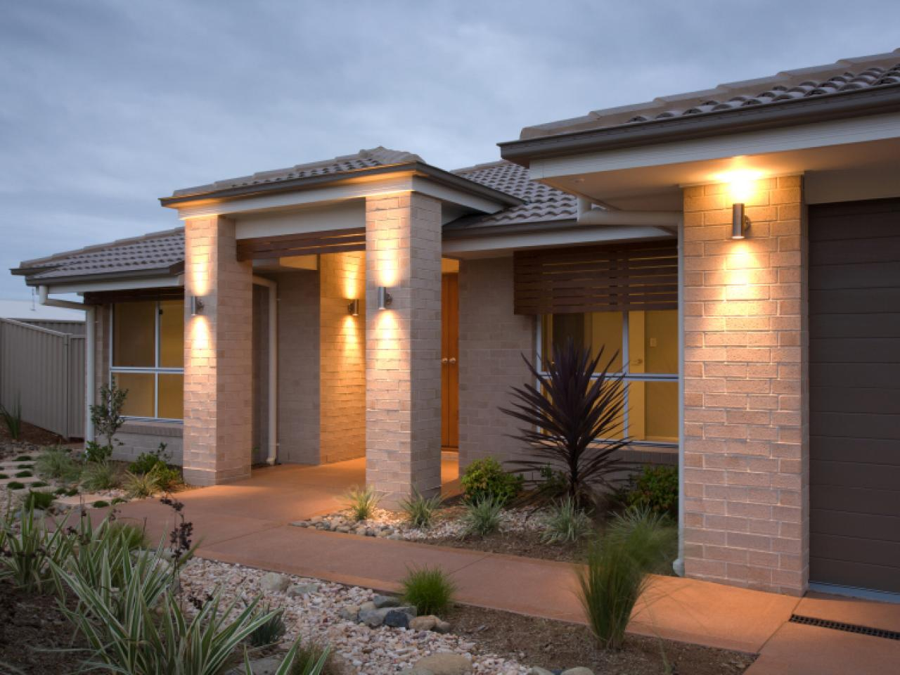 Exterior Lighting: Creating An Enchanting Front Entry With Architectural