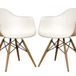 white plastic arm chairs