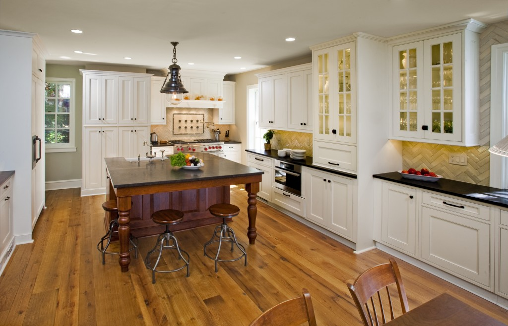 Allow Extra Room for Dining with a Large Kitchen Islands with
