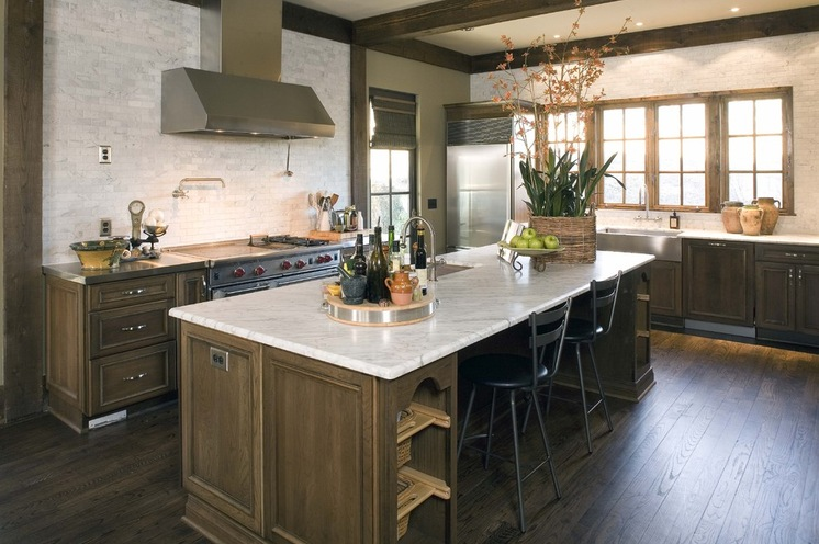 L shaped kitchen ideas for cooking enthusiast homesfeed for Traditional wooden kitchens