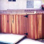 wood box for equipment pool