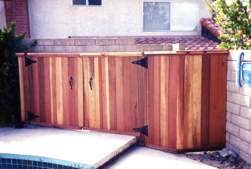 shed front hottubguys view ca custom equipment sheds pool