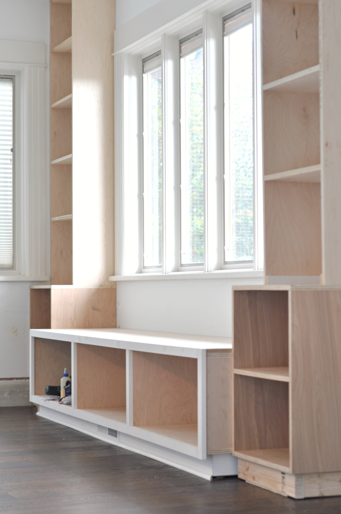 window book storage extra wood homesfeed bookcase offers finishing windows under the