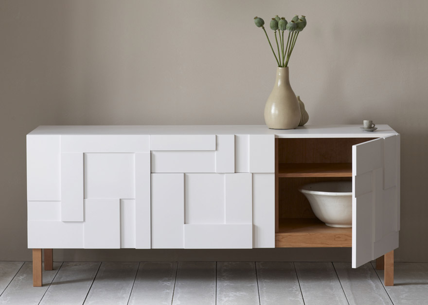 Creative design of classic and modern sideboard for home - Credenza bianca ikea ...