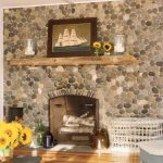 adorable-classic-nice-wonderful-cool-fantastic-driftwood-mantle-with-nice-small-original-wooden-design-with-some-decoration-like-photo-frame